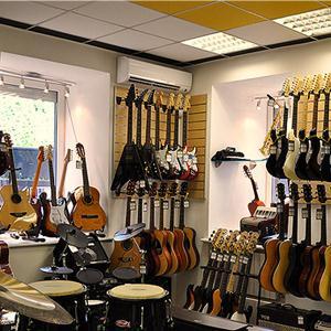 Музыкальные магазины Дербешкинского